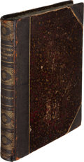 Books:Literature Pre-1900, Mark Twain. Adventures of Huckleberry Finn. New York: Charles L. Webster and Company, 1885. First U. S. edition, fir...