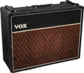 Musical Instruments:Amplifiers, PA, & Effects, 1963 Vox AC30 Black Guitar Amplifier, Serial #6898 B....
