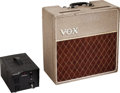 Musical Instruments:Amplifiers, PA, & Effects, 1962 Vox AC-4 Fawn Guitar Amplifier, Serial #2512.... (Total: 2 )
