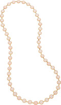 Estate Jewelry:Necklaces, Rose Quartz, Gold Necklace. ...