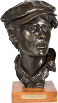 Fine Art - Sculpture, American:Contemporary (1950 to present), Grant Speed (American, 1930-2011). The Powder Monkey, 1978.Bronze with brown patina. 12-1/2 inches (31.8 cm) high on a ...