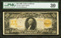 Large Size:Gold Certificates, Fr. 1185 $20 1906 Gold Certificate PMG Very Fine 30.. ...