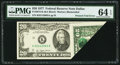 Error Notes:Foldovers, Fr. 2072-K $20 1977 Federal Reserve Note. PMG Choice Uncirculated64 EPQ.. ...