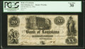 Obsoletes By State:Louisiana, New Orleans, LA- The Bank of Louisiana $20 May 22, 1862. ...