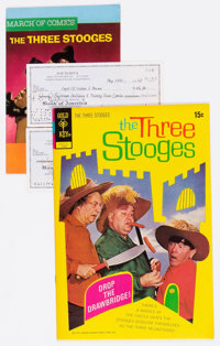 Three Stooges Related Group of 6 (Various Publishers, 1960s).... (Total: 6 Items)