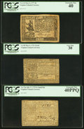 Colonial Notes:Virginia, Three Nice Comment Free Virginia Colonials.. ... (Total: 3 notes)