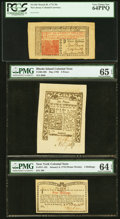 Colonial Notes:Mixed Colonies, A High Grade Trio From Three Different Colonies.. ... (Total: 3 notes)
