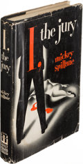 Books:Mystery & Detective Fiction, Mickey Spillane. Group of Three Mike Hammer Mysteries. New York:[1947-1952]. First editions.... (Total: 3 Items)