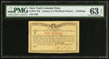 Colonial Notes:New York, New York January 6, 1776 (Water Works) 4s PMG Choice Uncirculated63 EPQ.. ...