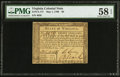 Colonial Notes:Virginia, Virginia May 1, 1780 $8 PMG Choice About Unc 58 EPQ.. ...