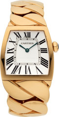 Estate Jewelry:Watches, Cartier Lady's Rose Gold La Dona Watch. ...