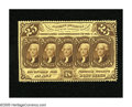 Fractional Currency:First Issue, Fr. 1280 25c First Issue Choice New. A lovely example of this veryscarce and desirable perforated without monogram note tha...