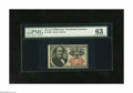 Fractional Currency:Fifth Issue, Fr. 1309 25c Fifth Issue PMG Choice Uncirculated 63 A pleasingShort Key Walker apparently graded 63 by PMG due to its cente...