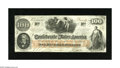 Confederate Notes:1862 Issues, T41 $100 1862. This is an attractive note that is trimmed along theframe line on all four sides. Crisp Uncirculated....