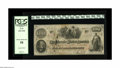 Confederate Notes:1862 Issues, T41 $100 1862. Light handling is found on this PCGS Choice AboutNew 58 scarce scroll 2 C-note that was issued in the Tr...