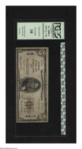 National Bank Notes:Maine, Portland, ME - $5 1929 Ty. 1 The Portland NB Ch. # 4128. Linwood E.Ashton and Charles G. Allen managed this bank. PCG...