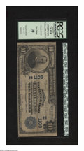 National Bank Notes:Maryland, Baltimore, MD - $10 1902 Plain Back Fr. 624 The National ExchangeBank Ch. # (E)1109. The cashier's signature is almost ...