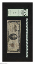 National Bank Notes:Oklahoma, Oklahoma City, OK - $20 1929 Ty. 1 The First NB & TC Ch. # 4862. This is one of four banks in the state that issued note...