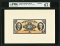 Canadian Currency, Toronto, ON- The Dominion Bank $10 Jan. 2, 1935 Ch. # 220-26-04PFace and Back Proofs.. ... (Total: 2 notes)
