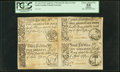 Colonial Notes:South Carolina, South Carolina April 10, 1778 2s/6d, 3s/9d, 5s, 10s Sheet PCGSApparent Choice About New 55.. ...