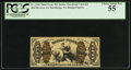Fractional Currency:Third Issue, Fr. 1343 50¢ Third Issue Justice PCGS Choice About New 55.. ...
