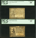 Colonial Notes:Virginia, Two Virginia Fractional Denomination Notes.. ... (Total: 2 notes)