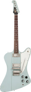 Musical Instruments:Electric Guitars, 1963/64 Rare Frost Blue Gibson Firebird III Solid Body Electric Guitar, #156293....