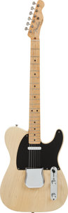 Musical Instruments:Electric Guitars, 1953 Fender Telecaster Blonde Solid Body Electric Guitar, Serial #3347....