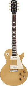 Musical Instruments:Electric Guitars, 1971 Gibson Les Paul Standard Gold Solid Body Electric Guitar,Serial #684404....