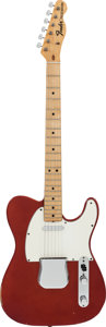 Musical Instruments:Electric Guitars, 1970 Fender Telecaster Candy Apple Red Solid Body Electric Guitar,Serial #307466....