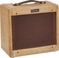 Musical Instruments:Amplifiers, PA, & Effects, 1958 Fender Champ Tweed Guitar Amplifier, #C05108....