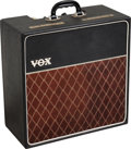 Musical Instruments:Amplifiers, PA, & Effects, 1964 Vox AC-4 Black Guitar Amplifier, Serial # 3013....