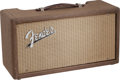 Musical Instruments:Amplifiers, PA, & Effects, 1962 Fender Reverb Unit Brown Guitar Amplifier, Serial # R01818....