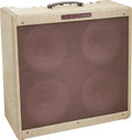 Musical Instruments:Amplifiers, PA, & Effects, 1960 Fender Bassman Tweed Guitar Amplifier, Serial # BM 03719....