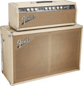 Musical Instruments:Amplifiers, PA, & Effects, 1963 Fender Tremolux Blonde Guitar Amplifier, Serial # 05399.... (Total: 2 )