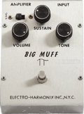 Musical Instruments:Amplifiers, PA, & Effects, 1972 Electro-Harmonix Big Muff V1 Fuzz Pedal....
