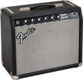 Musical Instruments:Amplifiers, PA, & Effects, 1984 Fender Super Champ Black Guitar Amplifier, Serial #F414200....