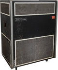 Musical Instruments:Amplifiers, PA, & Effects, Circa 1967 Pro-Line Leslie 330 Black Guitar Amplifier, Serial # H 94442....