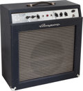Musical Instruments:Amplifiers, PA, & Effects, Circa 1963 Ampeg Reverberocket Blue Diamond Guitar Amplifier,Serial # 046843....
