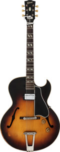 Musical Instruments:Electric Guitars, 1953 Gibson ES-175 Sunburst Archtop Electric Guitar, #A-13645....