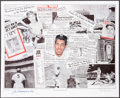 Autographs:Others, Joe DiMaggio Signed Lithograph. ...