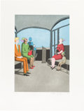 Books:Art & Architecture, Benny Andrews. Color Etchings. [New York: The LimitedEditions Club, 2005]. LEC edition, limited to sixty numbered s...