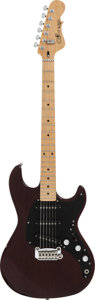 Musical Instruments:Electric Guitars, 1982 G & L S-500 Mahogany Solid Body Electric Guitar, #G010609....