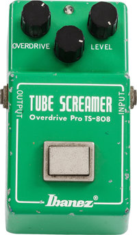 1980 Ibanez Tube Screamer Green Effect Pedal, #123697