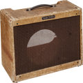 Musical Instruments:Amplifiers, PA, & Effects, Circa 1950s Fender Vibrolux Tweed Empty Cabinet....