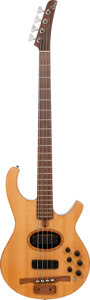 Musical Instruments:Bass Guitars, 2000 Citron AE4 Natural Electric Bass Guitar, Serial #010013AEA....