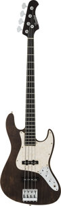 Musical Instruments:Bass Guitars, 2011 Bacchus Standard Natural Electric Bass Guitar, Serial #124824....