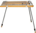 Musical Instruments:Lap Steel Guitars, Circa 1952-53 Fender Custom Model Triple Neck Dark Lap Steel Guitar, Serial #0695....