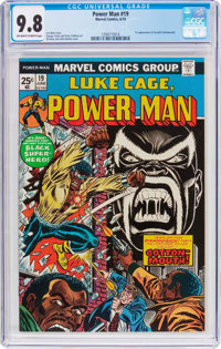 Power Man #19 (Marvel, 1974) CGC NM/MT 9.8 Off-white to white pages
