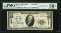 National Bank Notes:Maryland, Bel Air, MD - $10 1929 Ty. 2 The First NB Ch. # 13680. ...